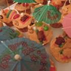 Teddy Bears' Beach Vacation Cupcakes