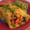 Veggie and Bacon Omelet