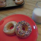 Baked Cinnamon Bun Donuts