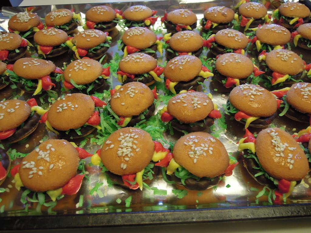 lots of burgers