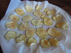 Finished chips