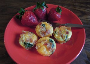 Mini quiche ready to eat