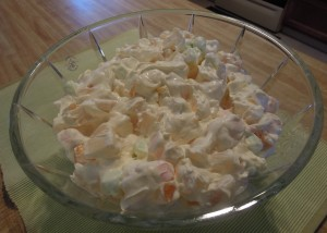 Mom 10 minute fruit salad