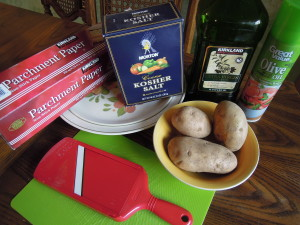 Potato Chip ingredients