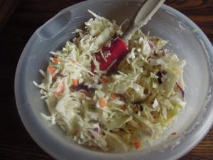 10 minute coleslaw