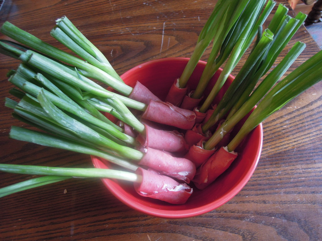 green onion wraps