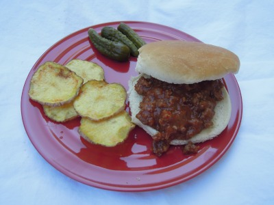 sloppy joe meal