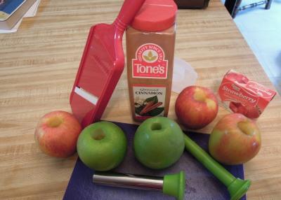apple chip ingredients
