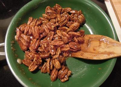 add nuts