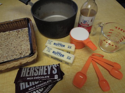 toffee ingredients