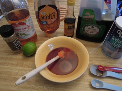 honey lime sauce