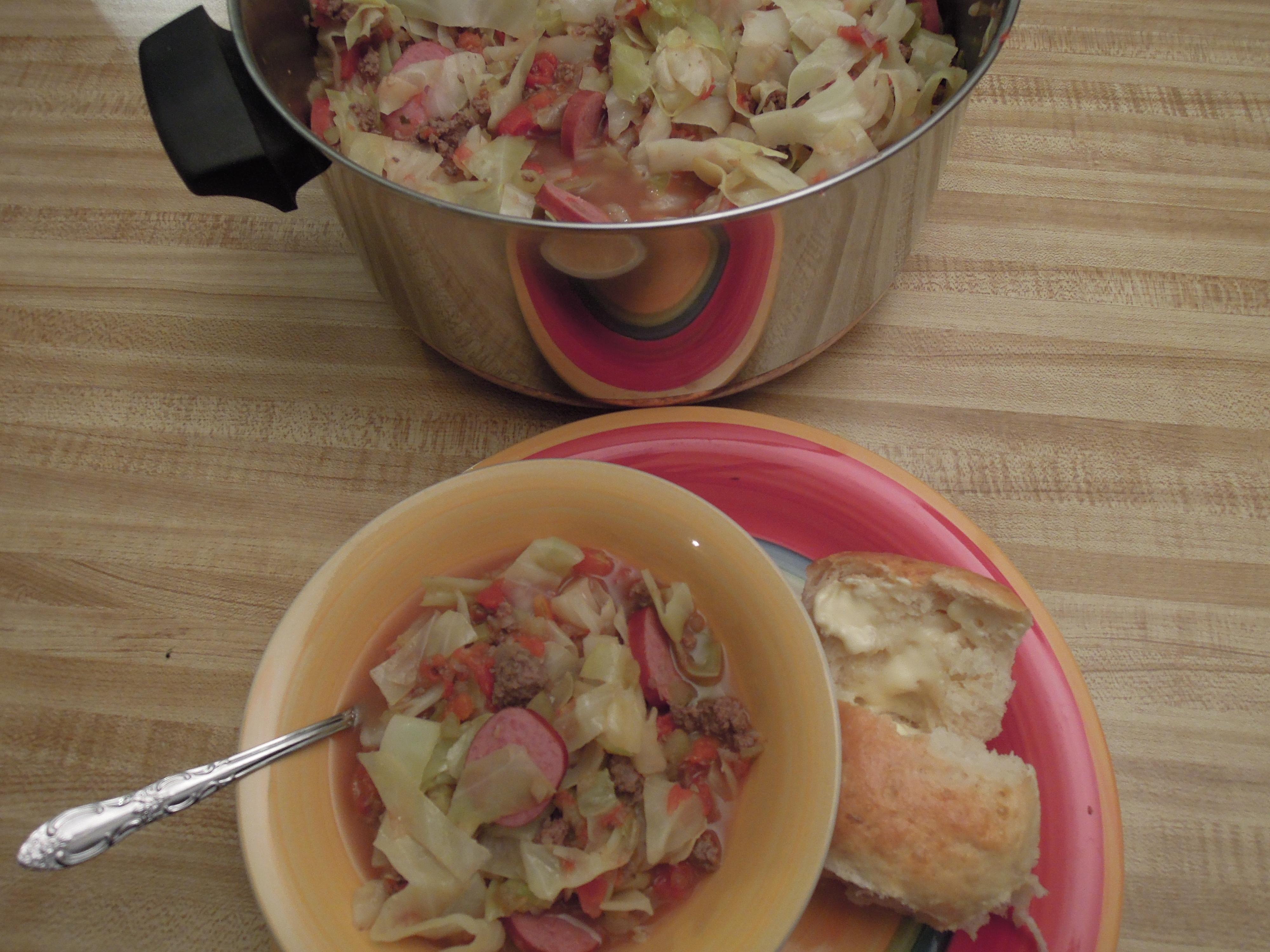 soup bowl and pot