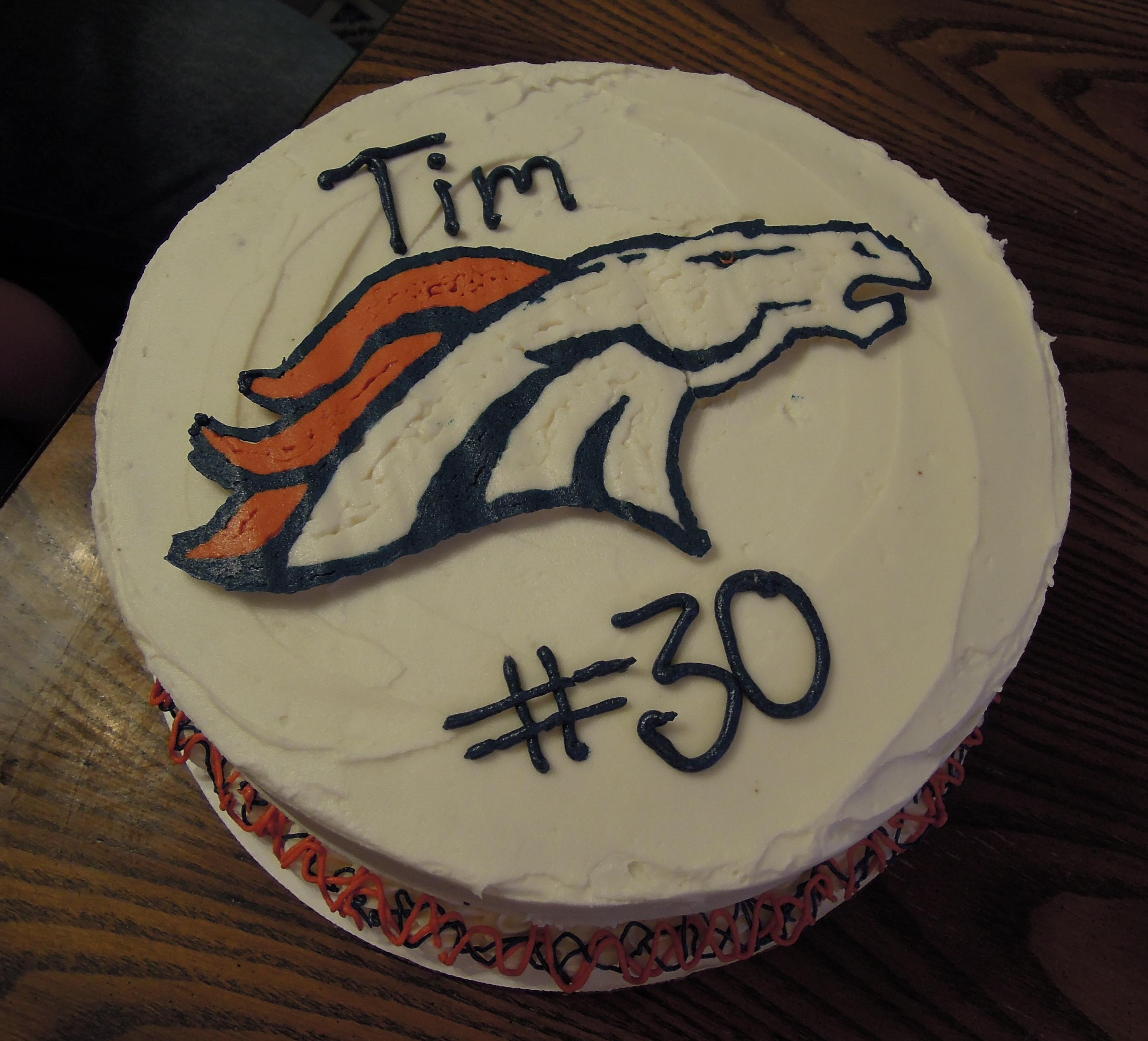 bronco cake 2
