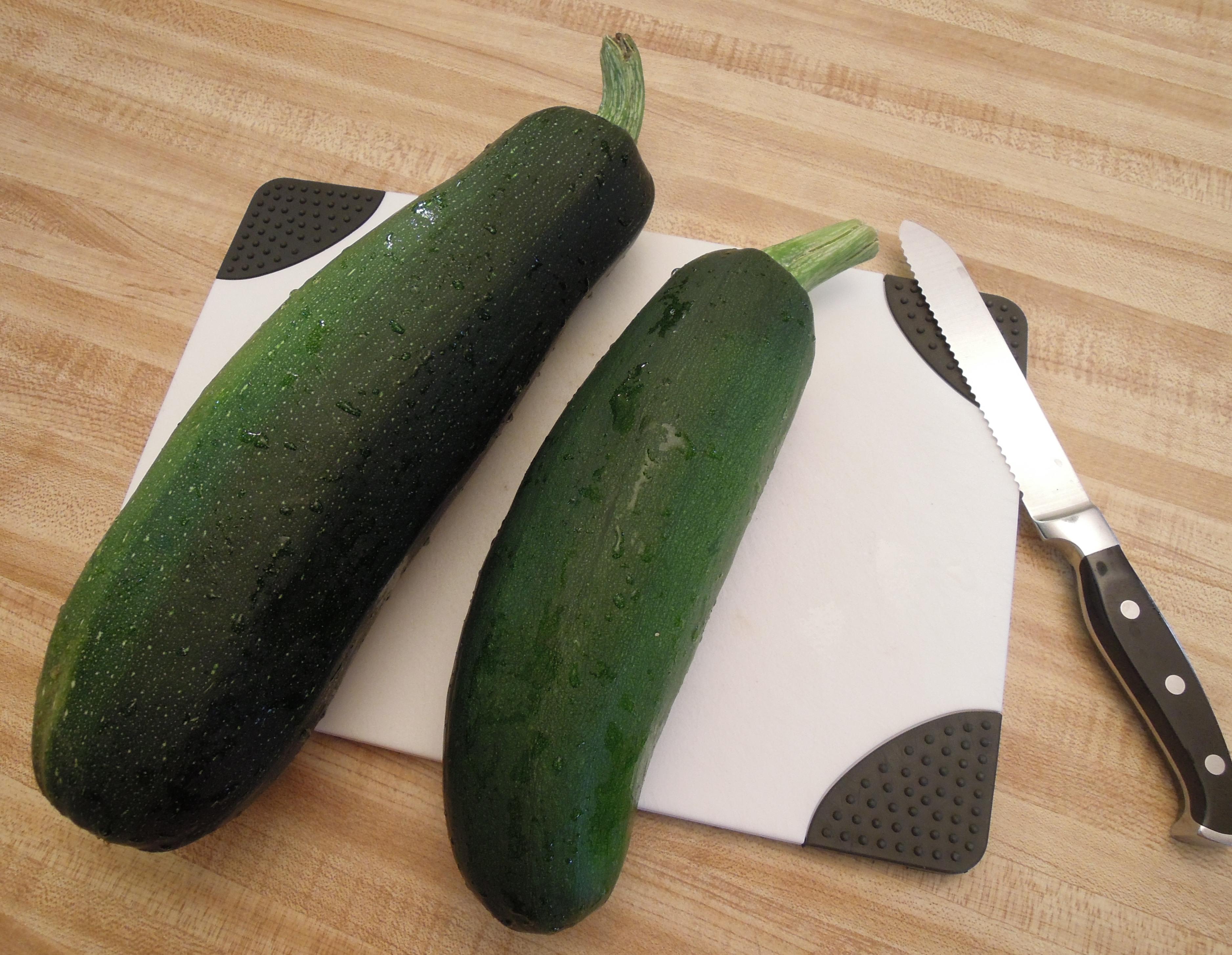 2 zucchini